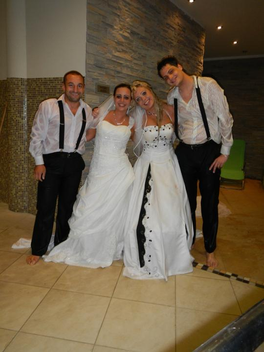 Skrátené videoukážky z našej svadby a svadobný wellnes :-) - Obrázok č. 14