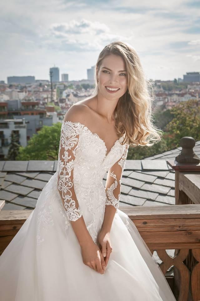 Eva Grandes princeznovské svatební šaty - Alison svatební šaty