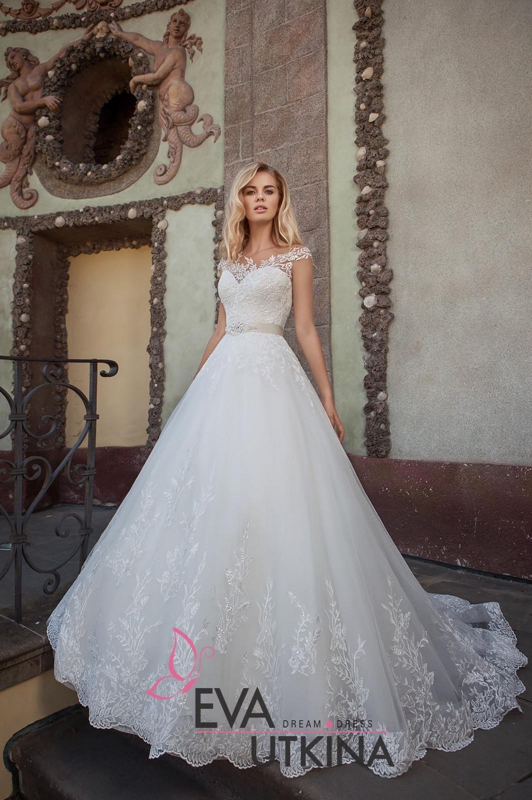 Eva Grandes 2021 svatební šaty na míru - Barbie - Eva Grandes