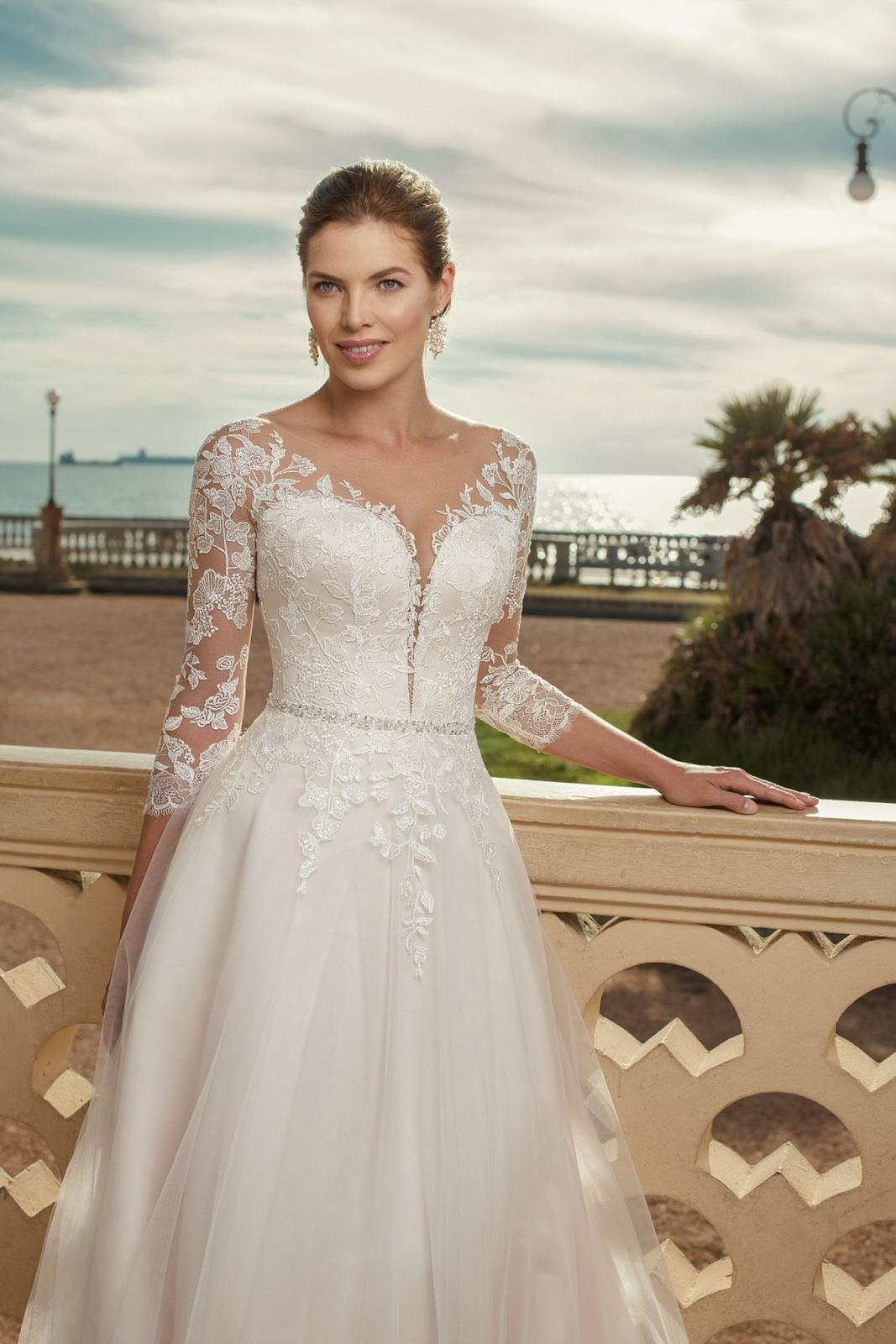 Eva Grandes 2021 svatební šaty na míru - Claris - Eva Grandes zbl