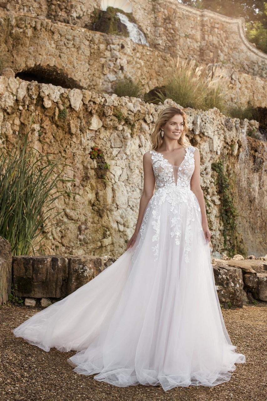 Eva Grandes 2021 svatební šaty na míru - Megan - Eva Grandes