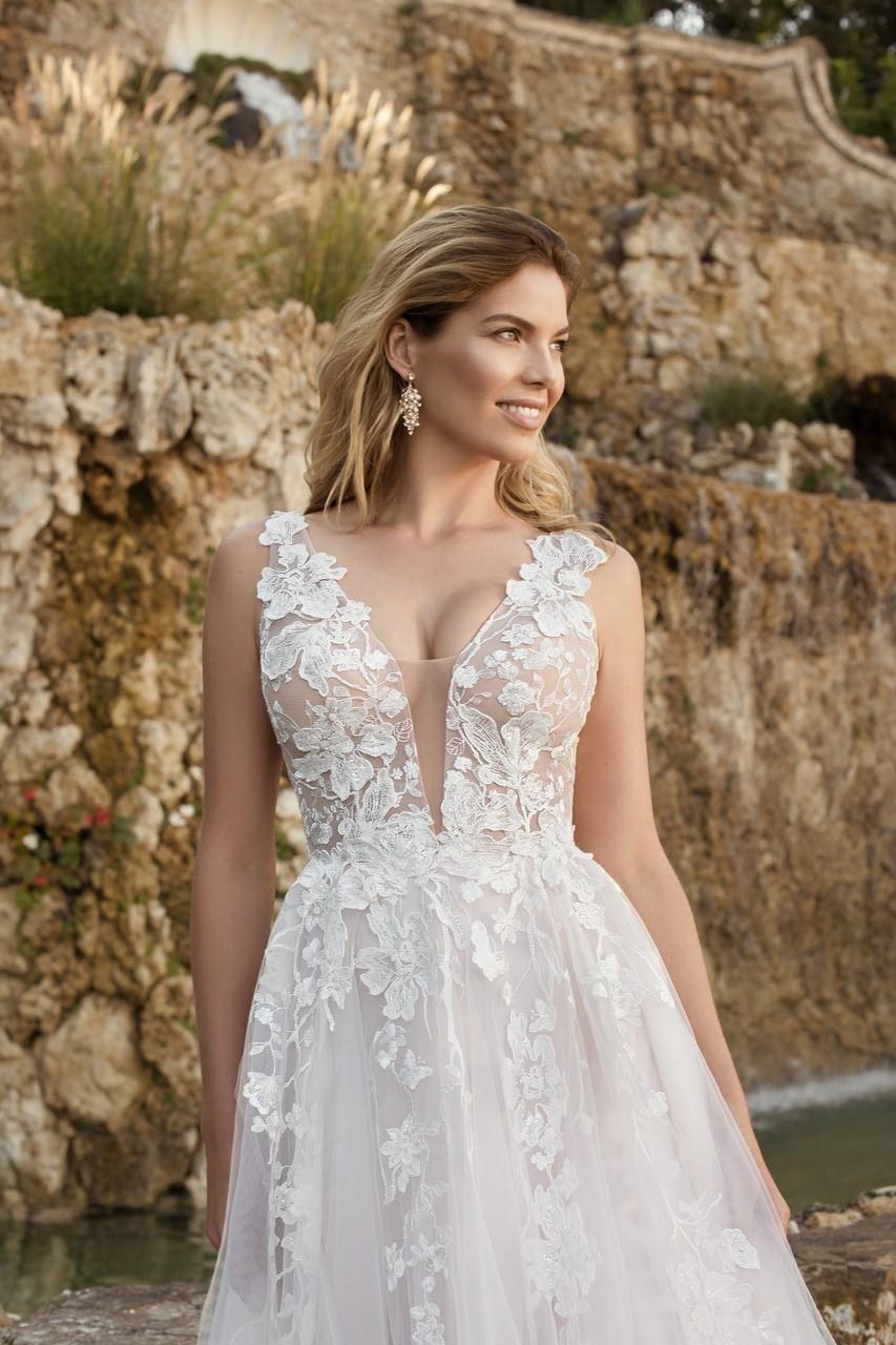 Eva Grandes 2021 svatební šaty na míru - Megan - Eva Grandes zbl