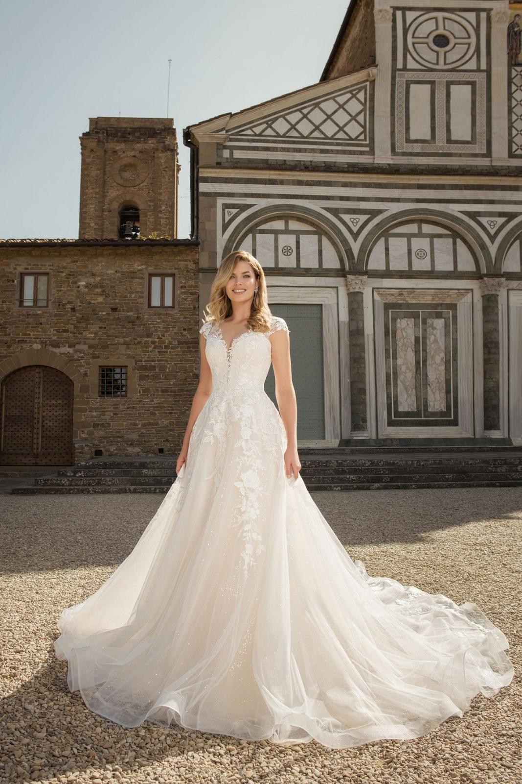 Eva Grandes 2021 svatební šaty na míru - Miranda - Eva Grandes