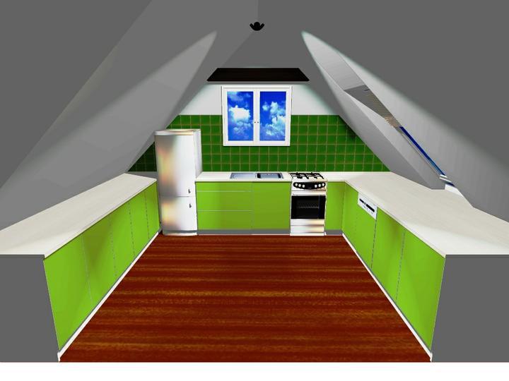 Kuchyňské linky....realizace - Grafika