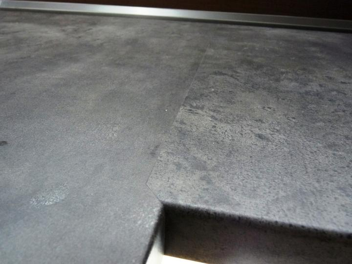 Kuchyňské linky....realizace - Detail spoje PD.
