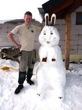 Jednou řeknu děckam,že sem byl na velikonoce na Sibyřu