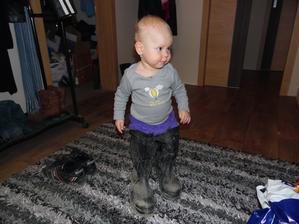 Školení na čištění žumpy proběhlo,tak šup a dem!