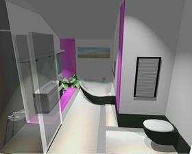 Takhle by měla vypadat koupelna.To zas bude roboty už to vidím...