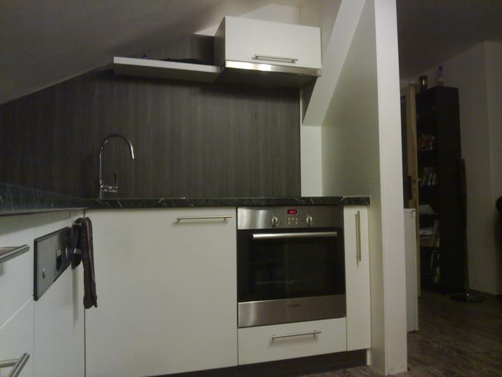 Kuchyňské linky....realizace - Obložení složitějších prvků