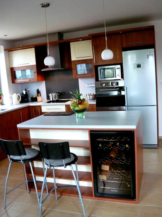 Kuchyňské linky....realizace - Calvados+vanilka