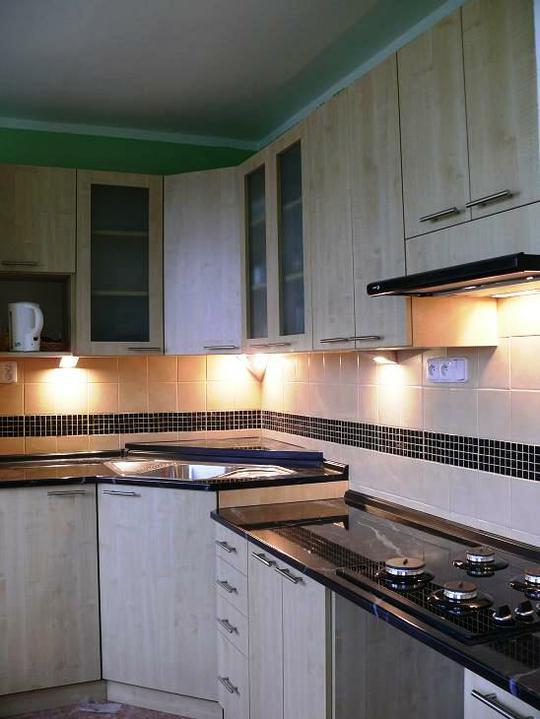 Kuchyňské linky....realizace - Sídlištní byt