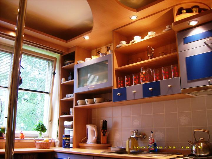Kuchyňské linky....realizace - Detail zespod