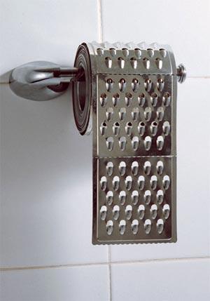 Praktické domácí potřeby - Záchodový papír pro drsnější typy