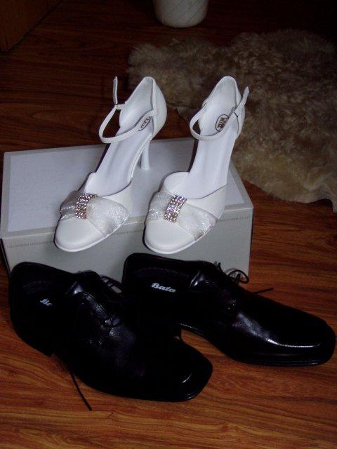 Evka a Janko - Naše svadobné topánky