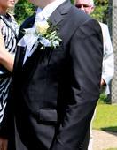 svatební oblek od značky Jamel, 48