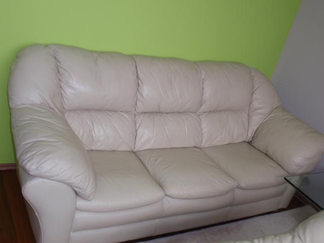 kožená sedačka 3-miestna - Obrázok č. 1