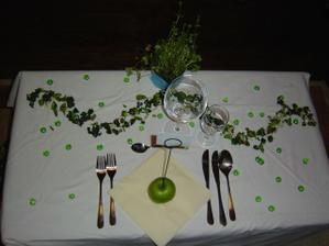Zkouska stolu