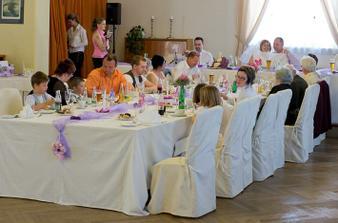 Svatební hostina  v Hotelu Svornost - Obrázek č. 42