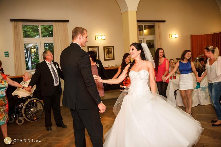 Svatební hostina  v Hotelu Svornost - Obrázek č. 46