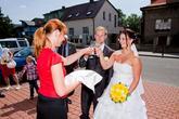 Přivítání novomanželů