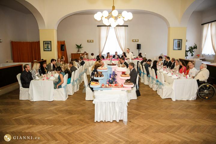 Svatební hostina  v Hotelu Svornost - Obrázek č. 27