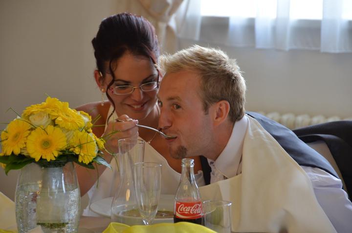 Svatební hostina  v Hotelu Svornost - Obrázek č. 22