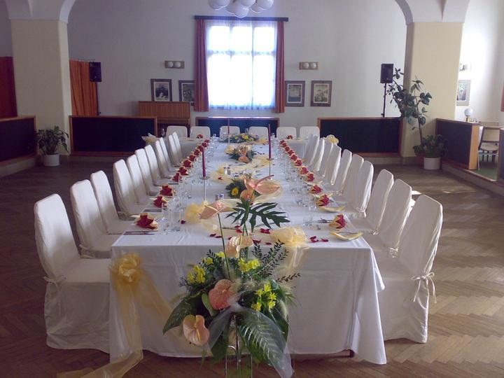 Svatební hostina  v Hotelu Svornost - Obrázek č. 40
