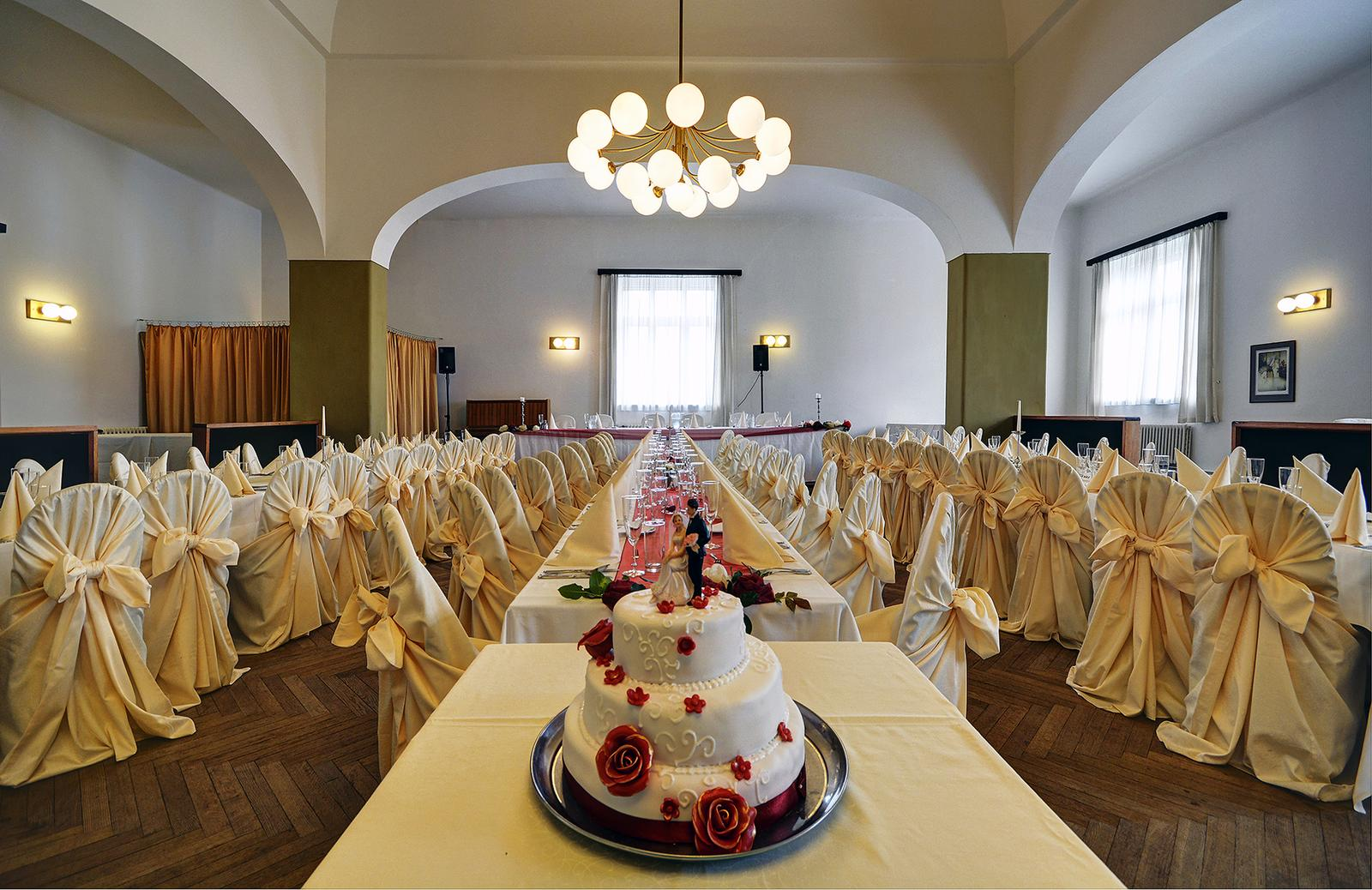 Svatby 2016 - svatební tabule + dort