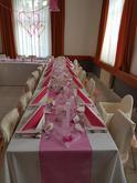 Svatební tabule salonek