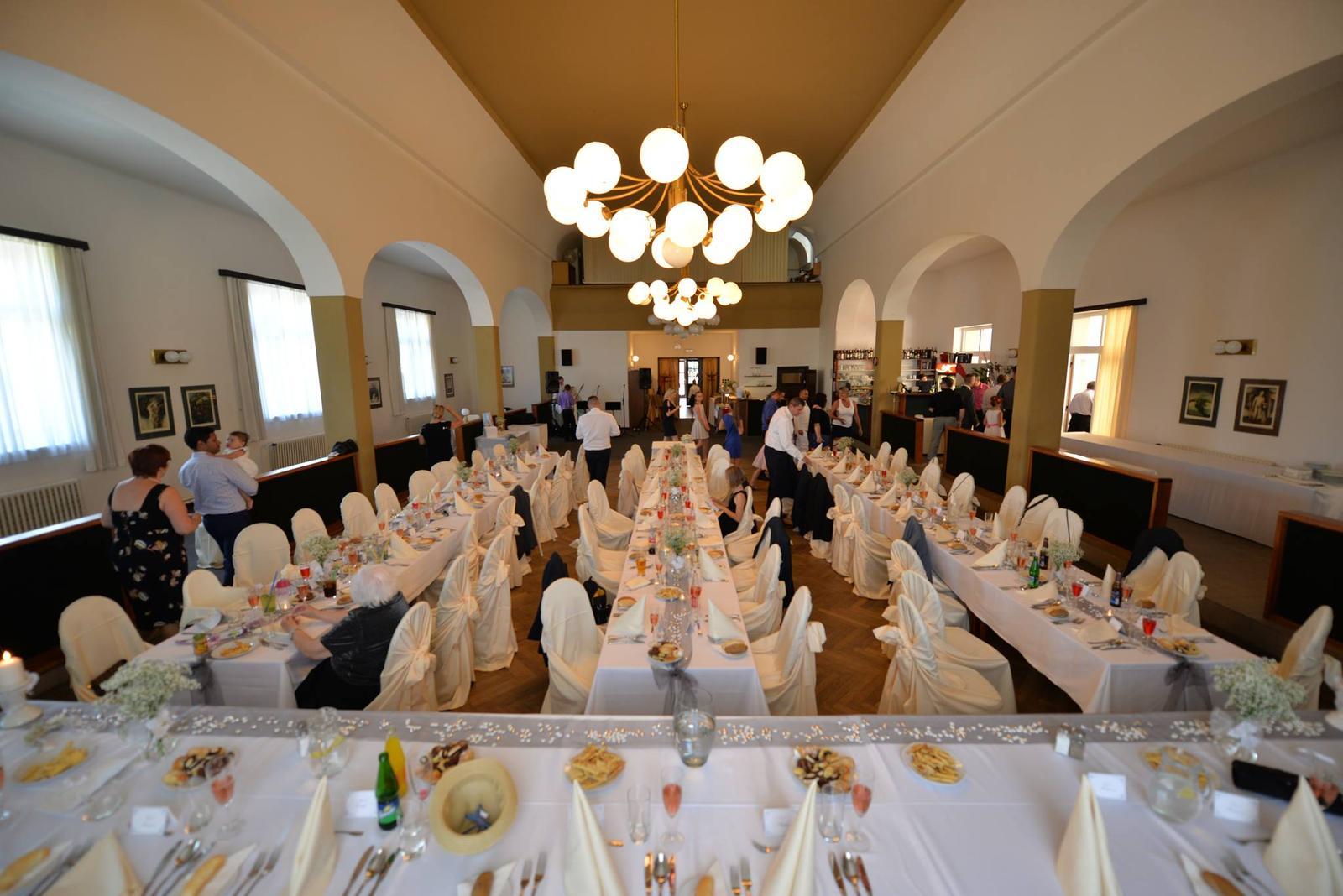 Svatby 2017 - sál hotelu