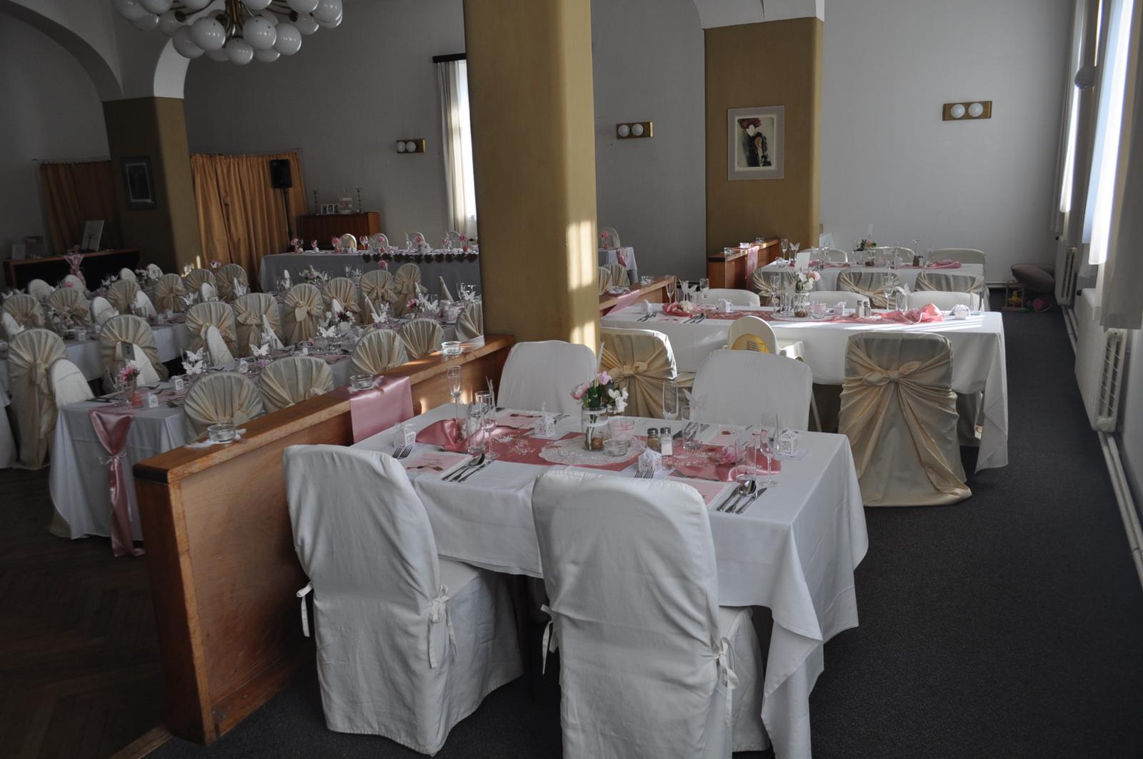 Svatby 2017 - svatební sál