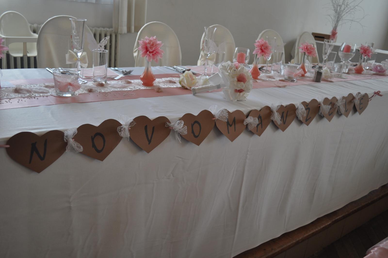 Svatby 2017 - svatební dekorace