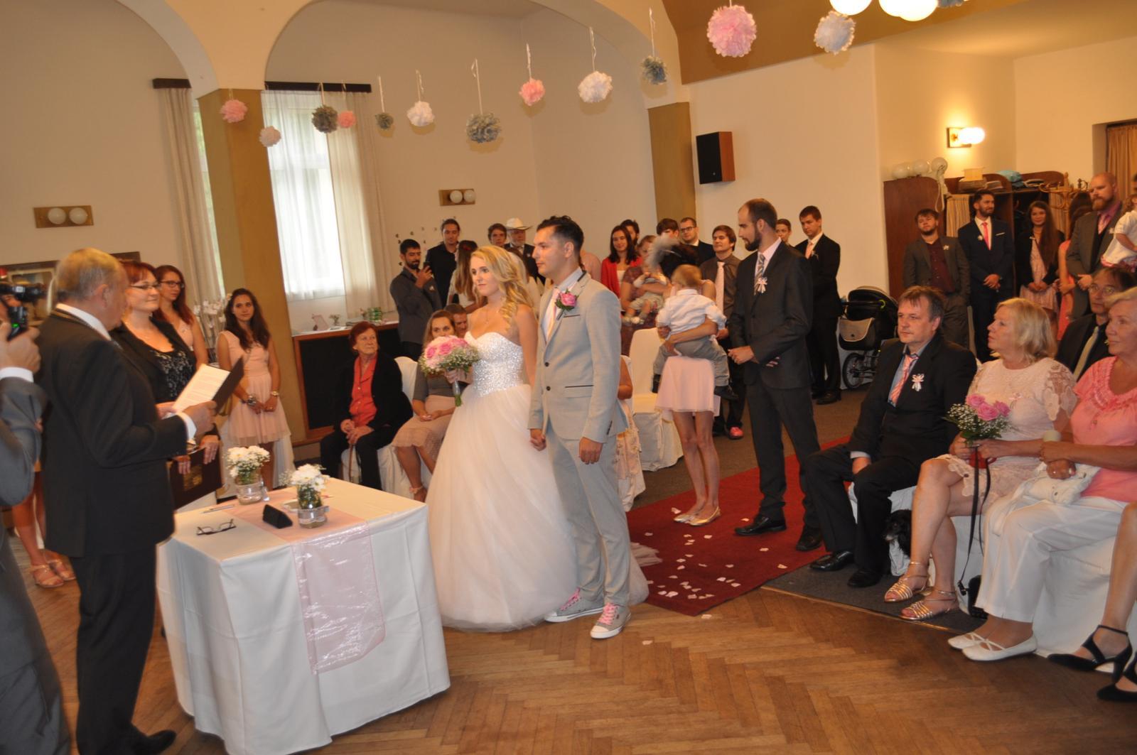 Svatby 2017 - mokrá varianta obřadu