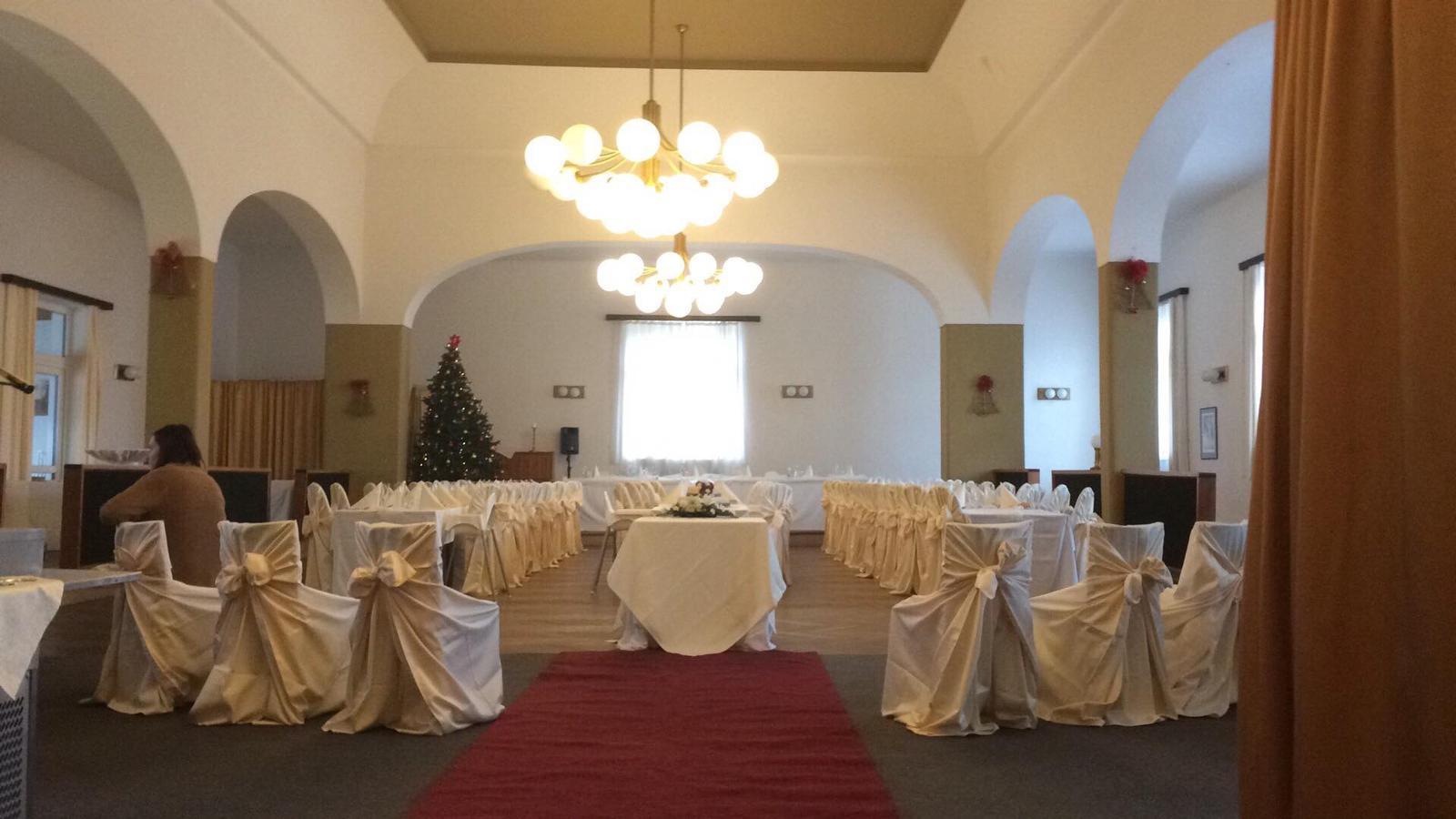 Svatba 2018 - Vánoční svatební obřad