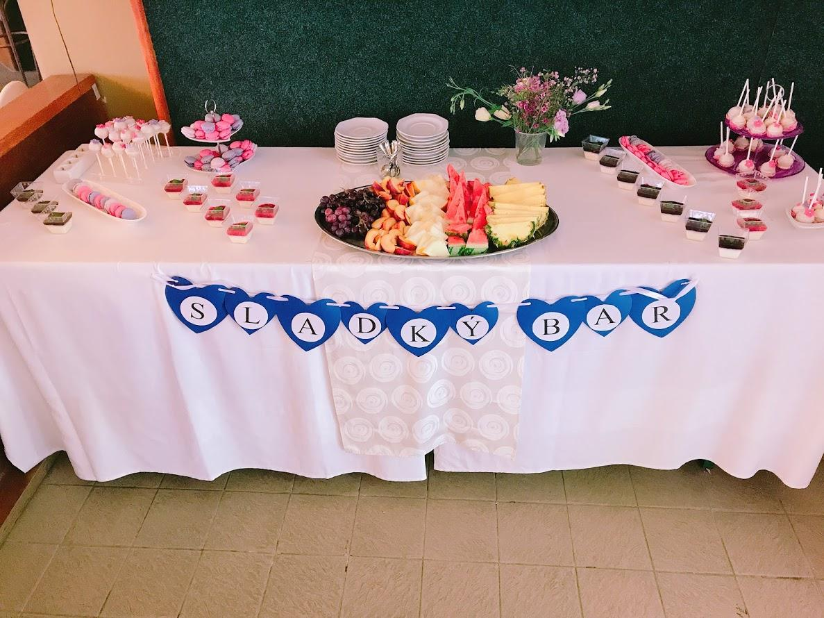 Svatba 2018 - Raut sladký bufet