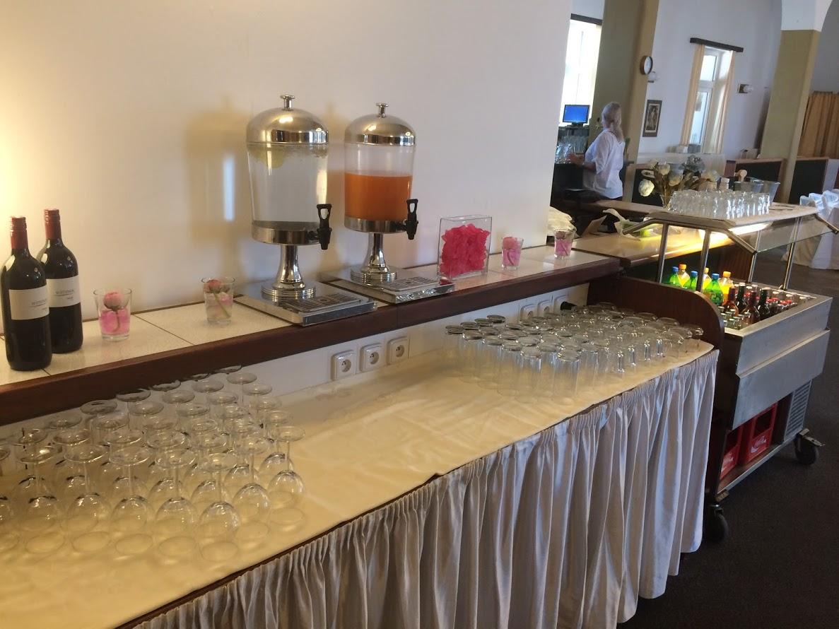 Svatba 2018 - nápojový bar
