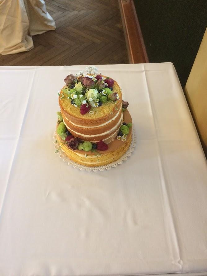 Svatba 2018 - svatební dort