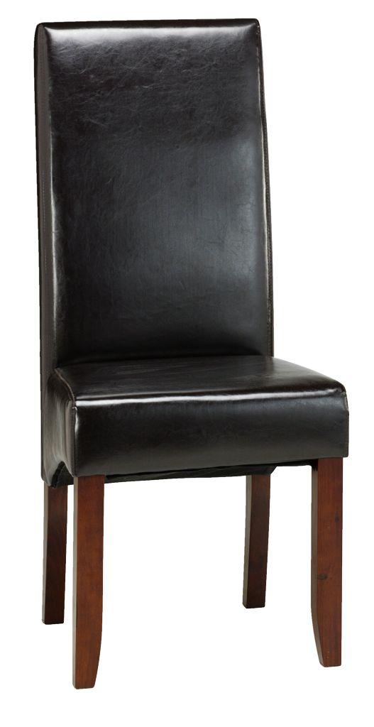 Prosím Vás má niekto kombináciu biely lesklý jedálenský stôl a čierno hnedé stoličky??? Stoličky mám už doma, neviem neviem či to pojde do kopy ??? Za každý názor dakujem pekne .-D - Obrázok č. 1
