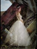 Princezna - svatebni saty vel 36-38, 38