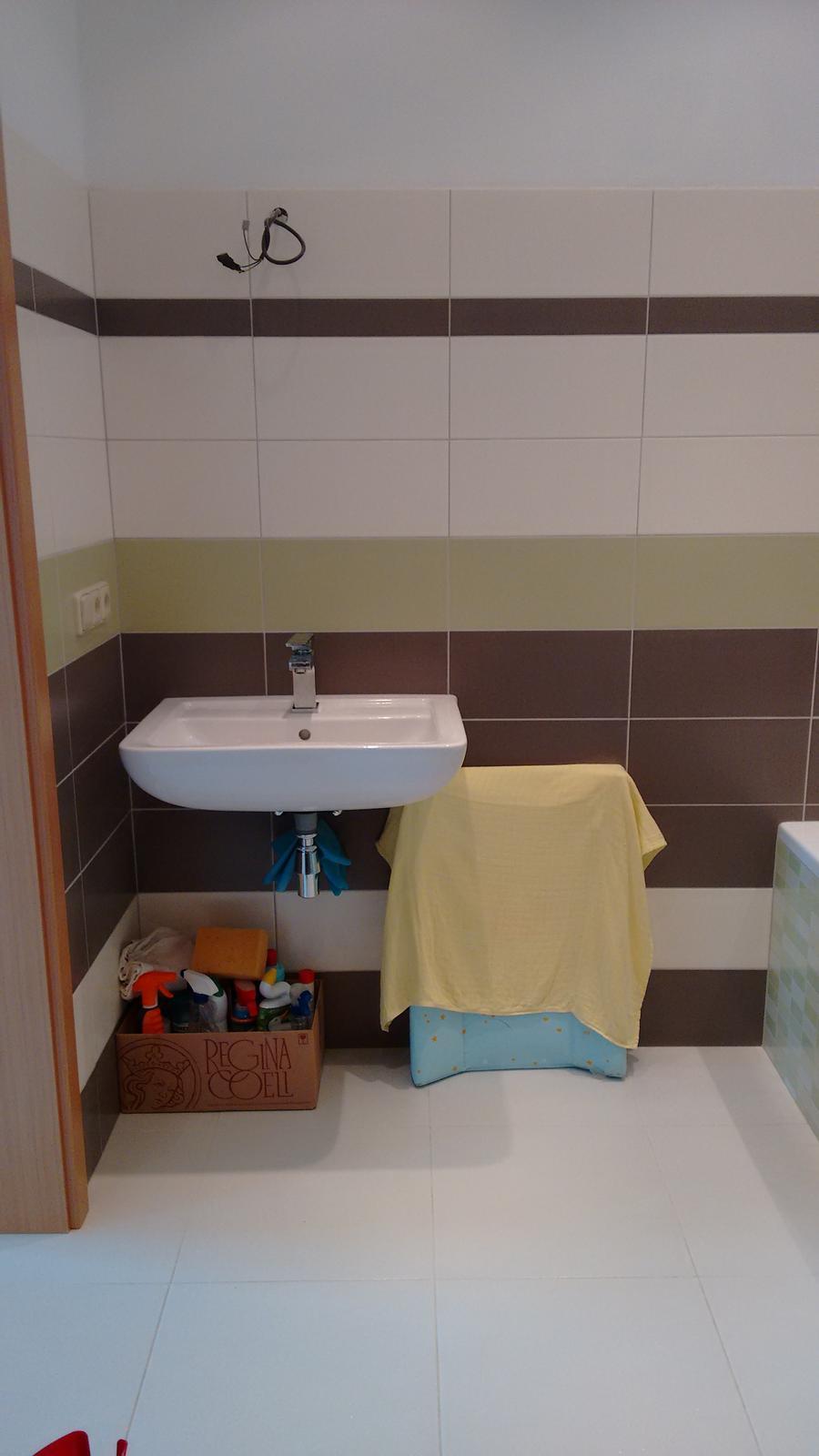 Právě si zařizujeme koupelnu... - Obrázek č. 1