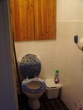 záchod už s novým prkýnkem