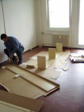 už stavíme nábytek