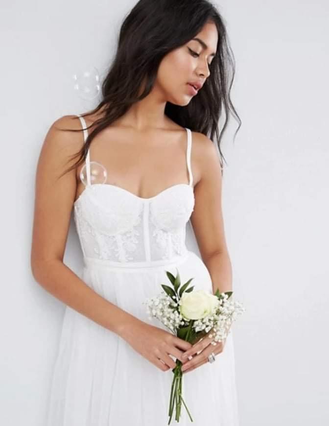 Popolnočné/svadobné šaty - Obrázok č. 1