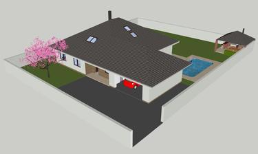 Pred domom - Sketchup