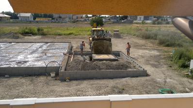 19.07. Finalna uprava dosky pred zaliatim betonom