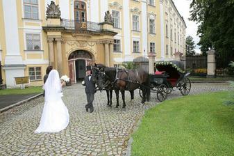 Náš svatební kočár