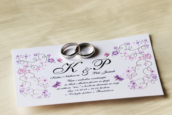 Katka{{_AND_}}Peto - nase najkrajsie svad. oznamenie...vlastnej vyroby :-)