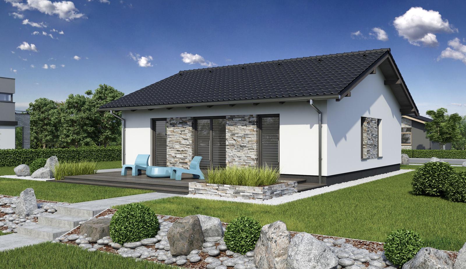 Rodinný dom Laguna 11 - architektonicky zaujímavé riešenia fasády