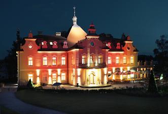 Hotel zámek Berchtold - místo konání obřadu a hostiny