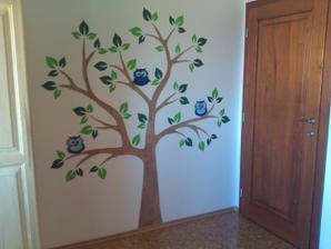 Tak jsem to konečně dokončila. Dekorace našemu malému do pokoje.